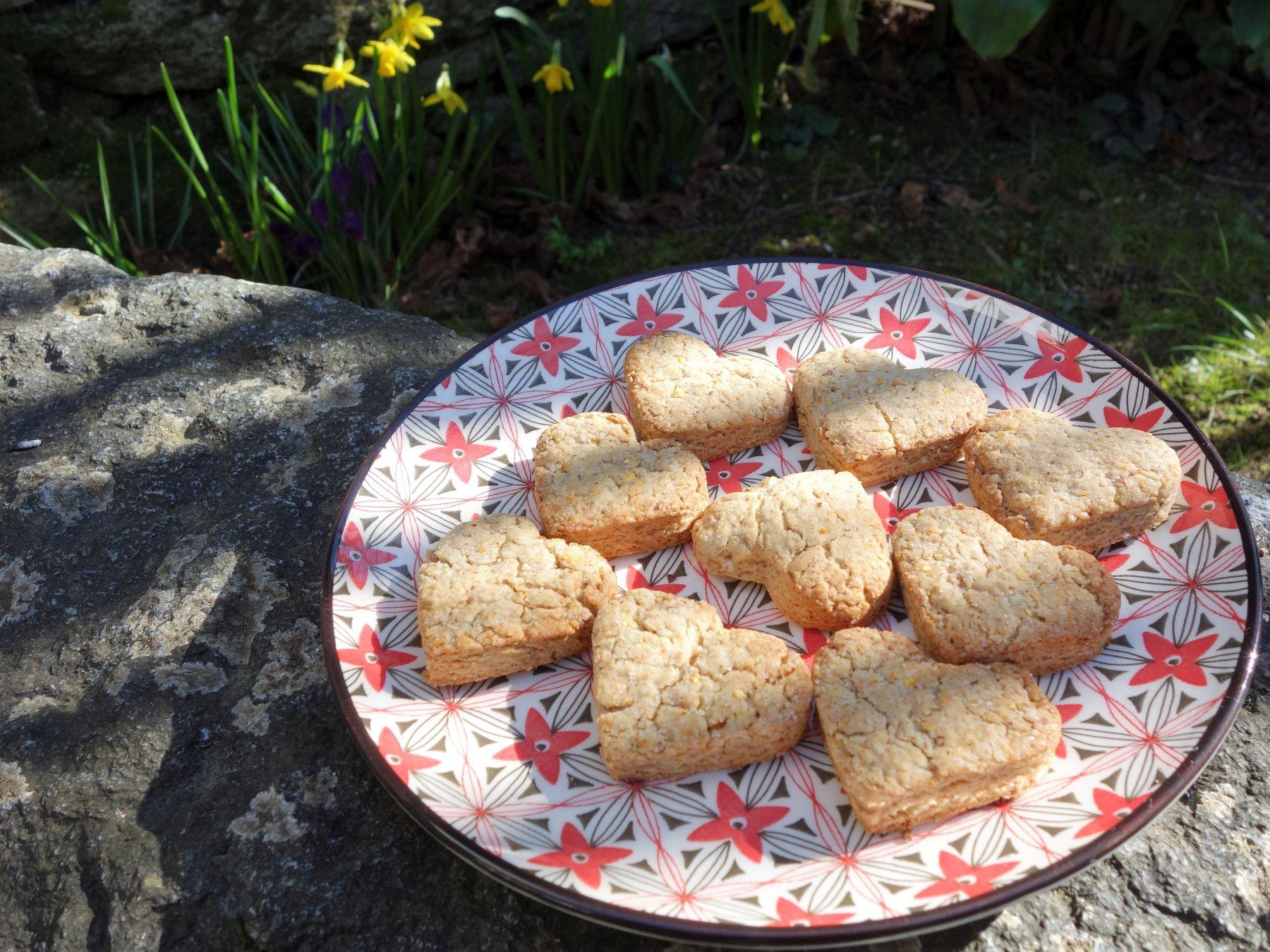 biscuits amande et agrumes